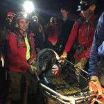 Elderly dog rescued from steep embankment in Marin County